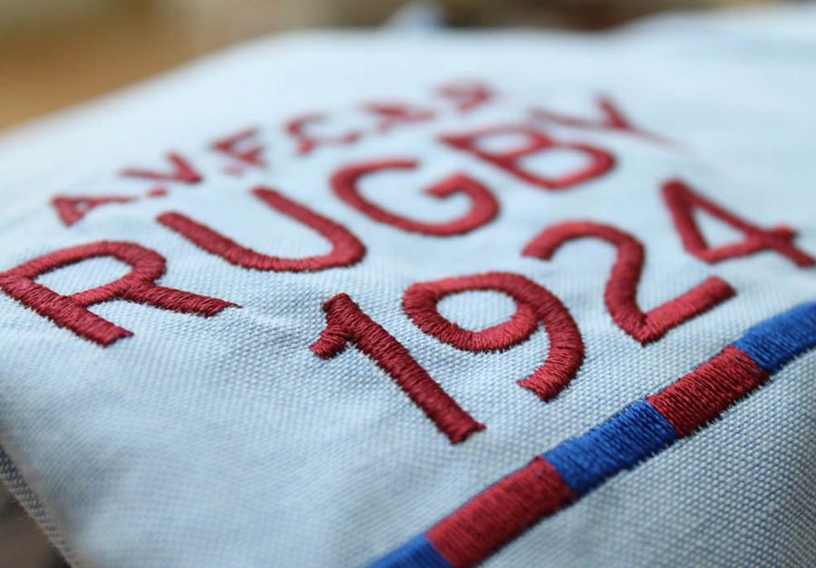 Broderie rugby